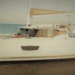 Парусное многокорпусное судно ISLA-40 от Fountaine Pajot